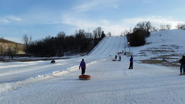 8. Or maybe you'd prefer to go sledding down the biggest hill you can find?