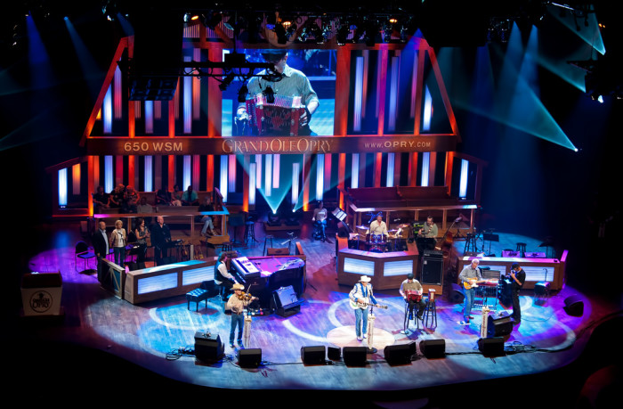 9) We have the Grand Ole Opry