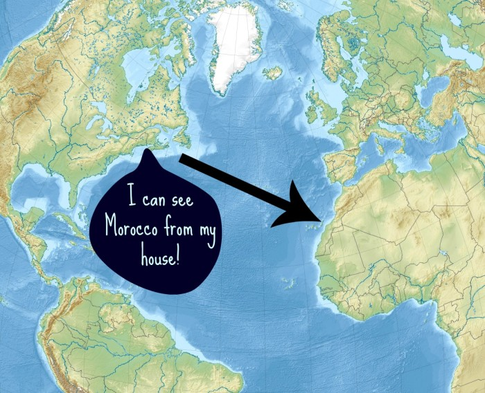 9. We have cool geography facts.