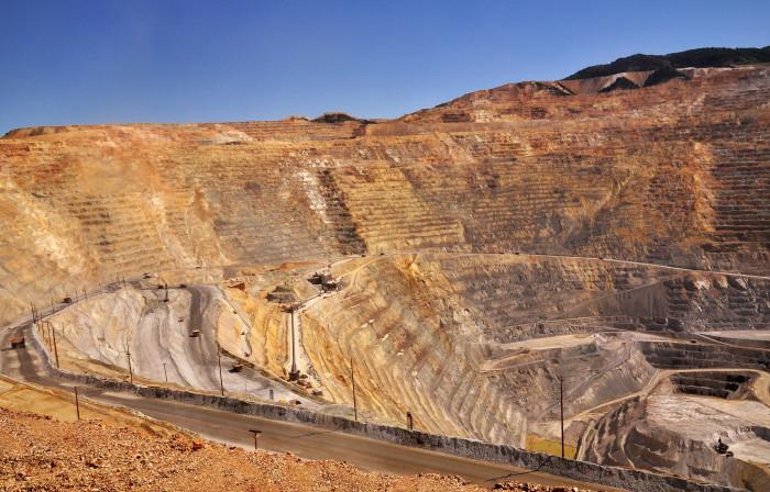 8. Kennecott Copper Mine