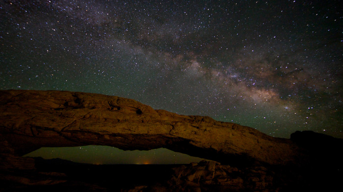 17. Check out the Milky Way at Canyonlands National Park.
