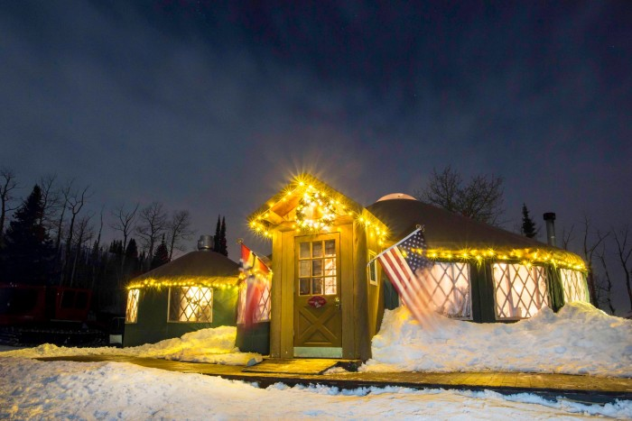 7. Eat dinner at The Viking Yurt.