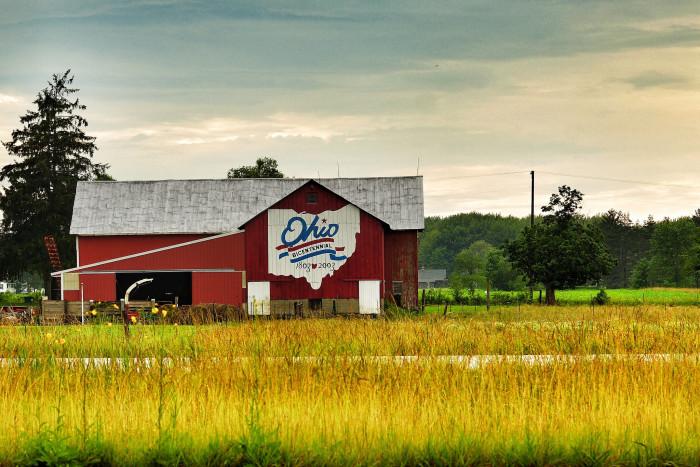 8. Ohio Bicentennial Barns