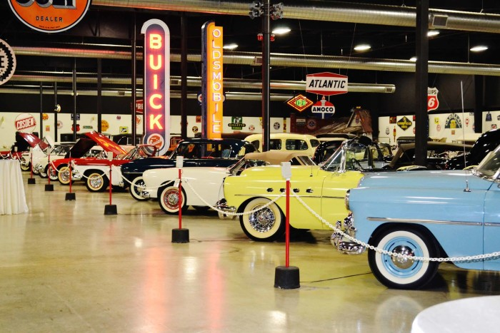 9. Become a car buff at the Tupelo Automobile Museum.