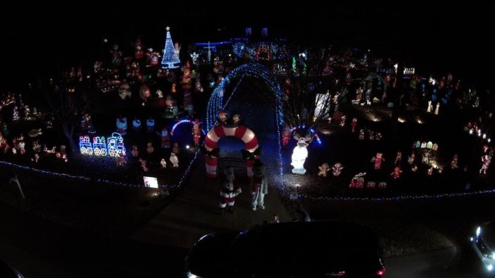 4. Take in the Richardson Light Show.