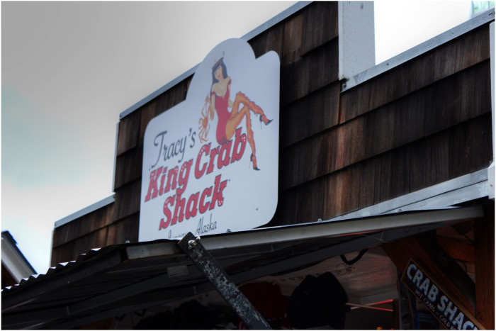 16) Go to Tracy's King Crab Shack in Juneau.