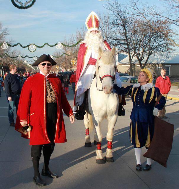 8. Orange City for Sinterklaas Day