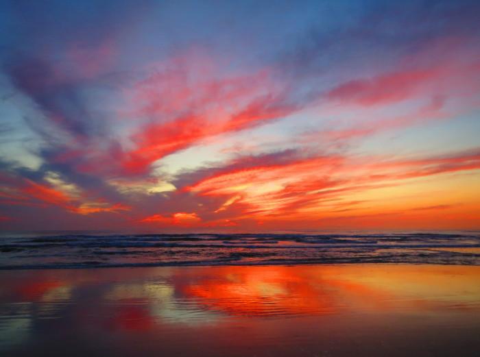 7. Incredible skies