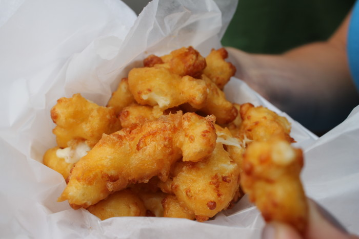 16. Cheese Curds