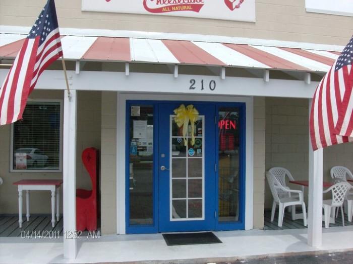 2. Raspberry Gateau / Hope's Cheesecake - Gulf Shores, AL