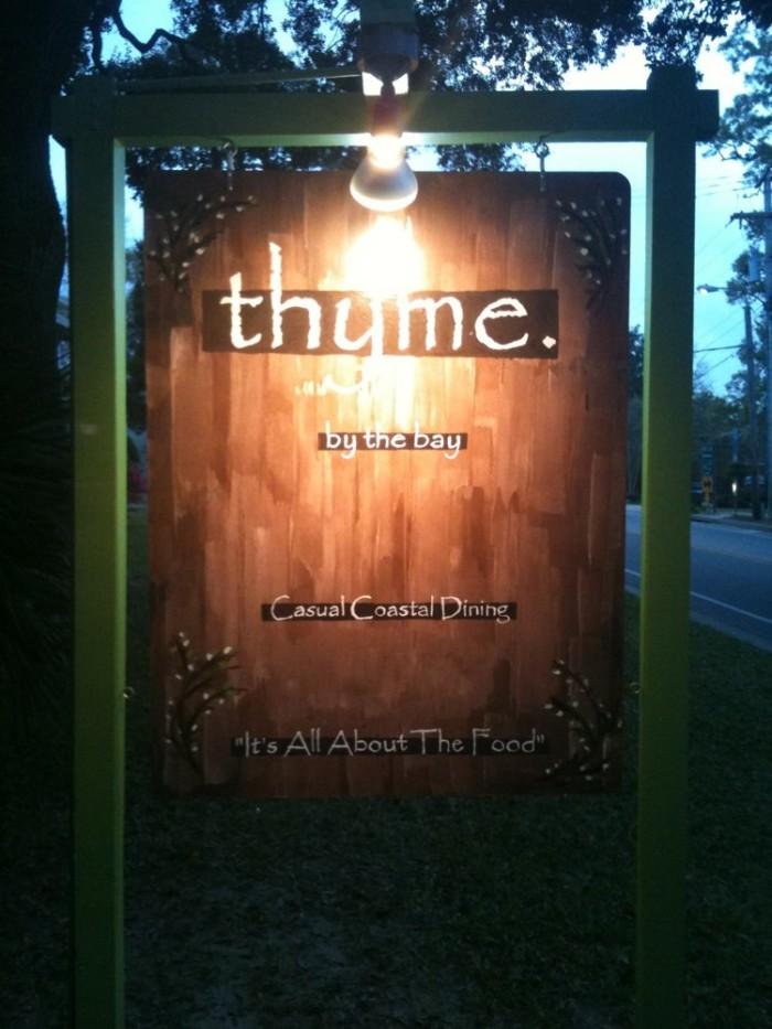 8. Thyme by the Bay - Fairhope, AL