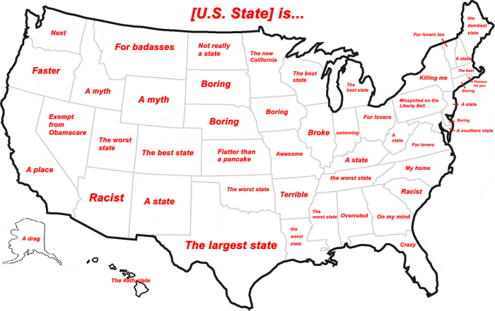 Hilarious Stereotypical Alabama Maps - Maps of alabama