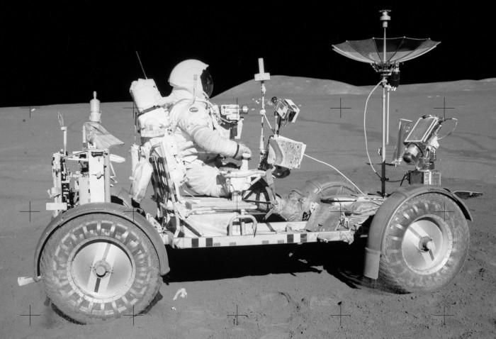 4. Rare NASA Lunar Rover Sold For Scrap Metal