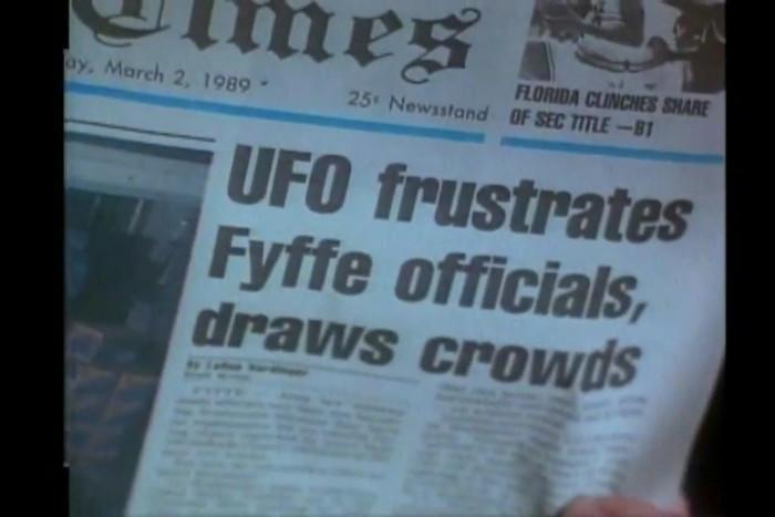 6. UFO Sightings in Fyffe, Alabama