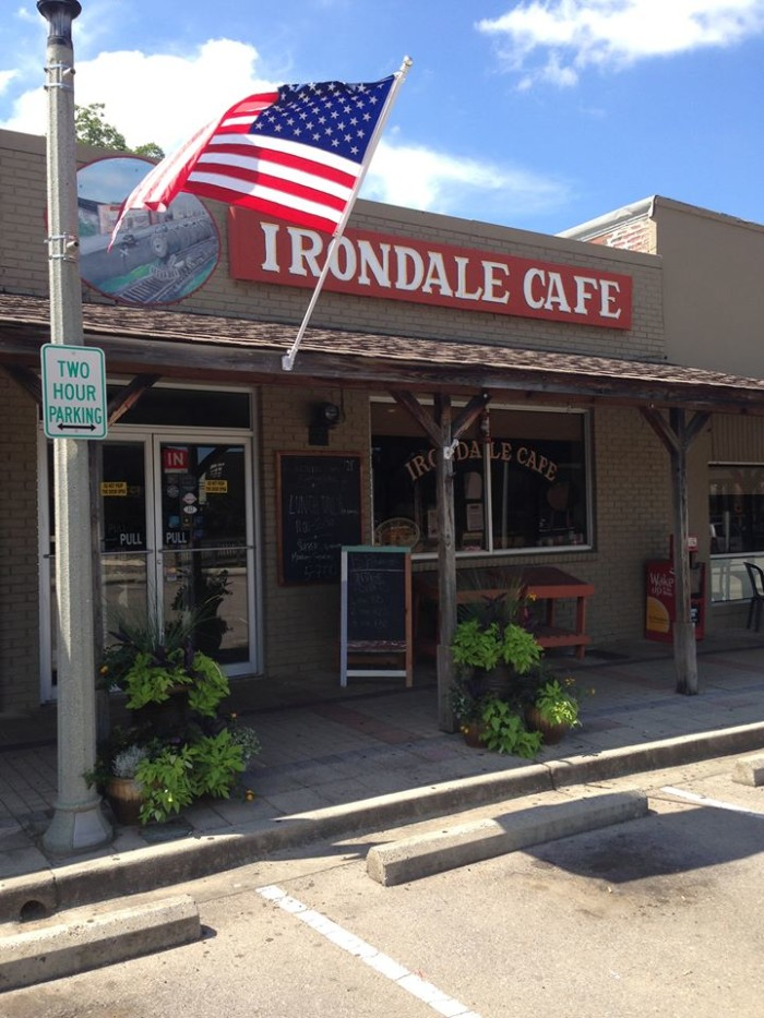 Irondale Cafe Hours