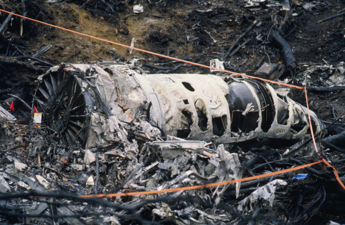 2) 1995 Alaska Boeing E-3 Sentry Accident