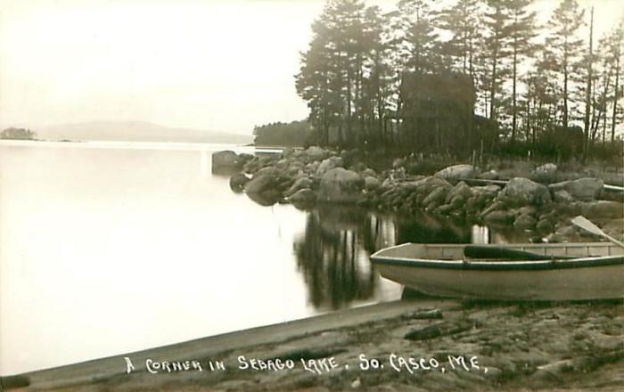 17. A calm Sebago Lake (1915)
