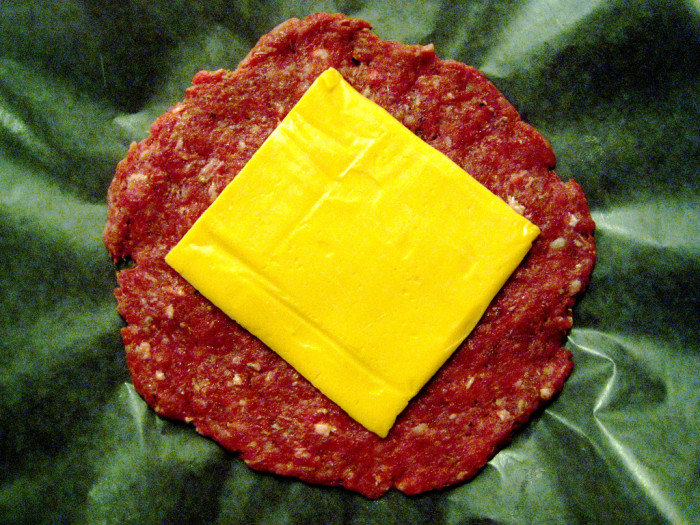 11.  Individually wrapped slices of cheese.