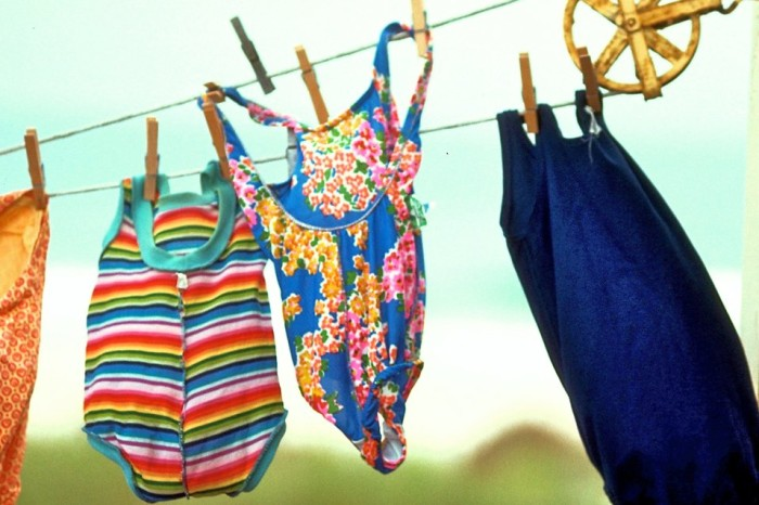 1. It's time to swap out the swimsuits...