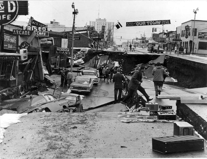 7) 1964 Alaskan Earthquake