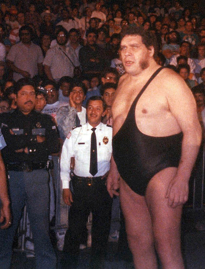 9. Professional wrestler Andre the Giant once consumed over 100 beers in a Pittsburgh hotel.