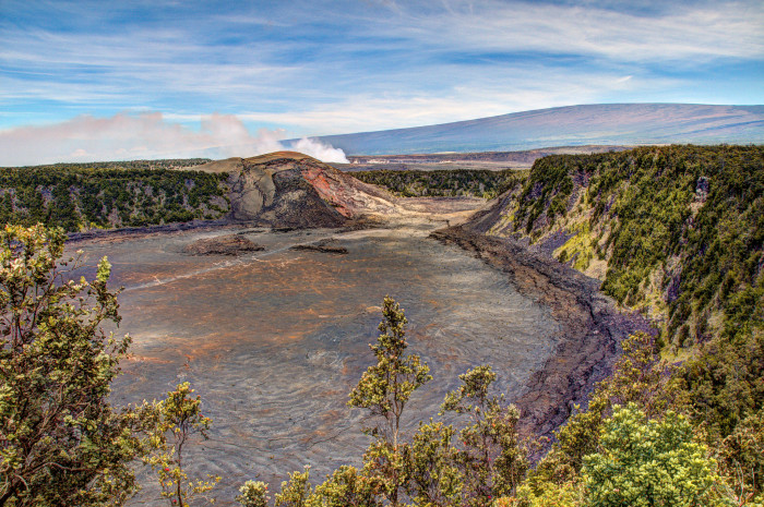 A trip to Hawaii Volcanoes National Park isn't complete without a visit to the Kilauea overlook.