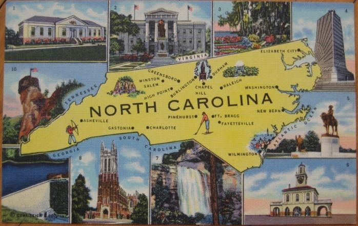 15 Maps Of North Carolina – Tourist Attractions Map In Charlotte Nc