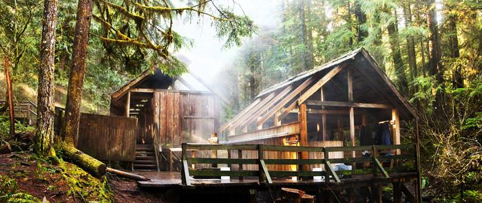 1. Bagby Hot Springs