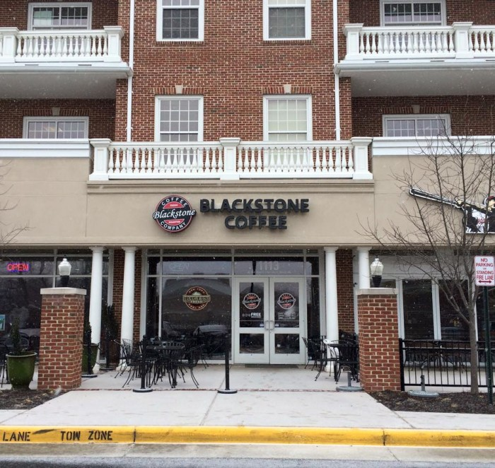 15.  Blackstone Coffee Company, Fredericksburg