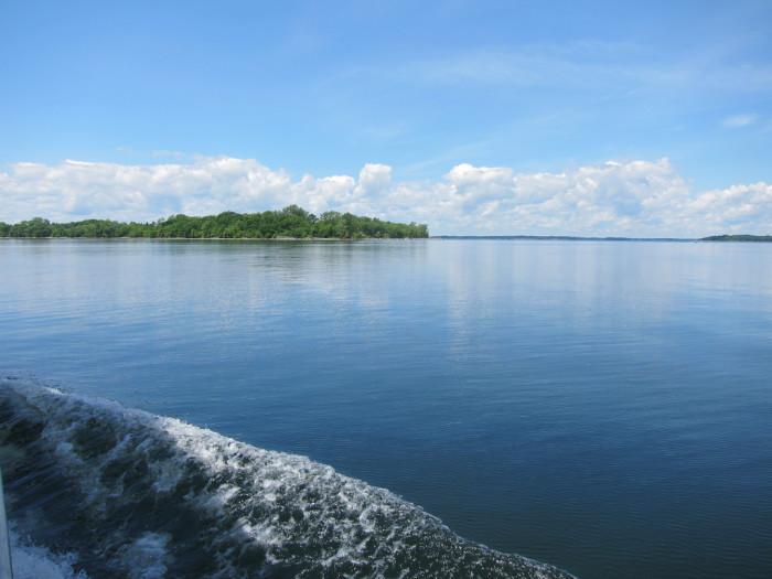 1.  Burton Island.