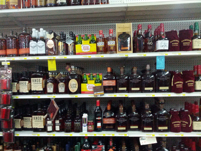 5. Bourbon is not always the beverage of choice.