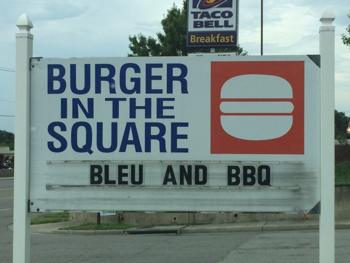 13. Burger in the Square, Roanoke