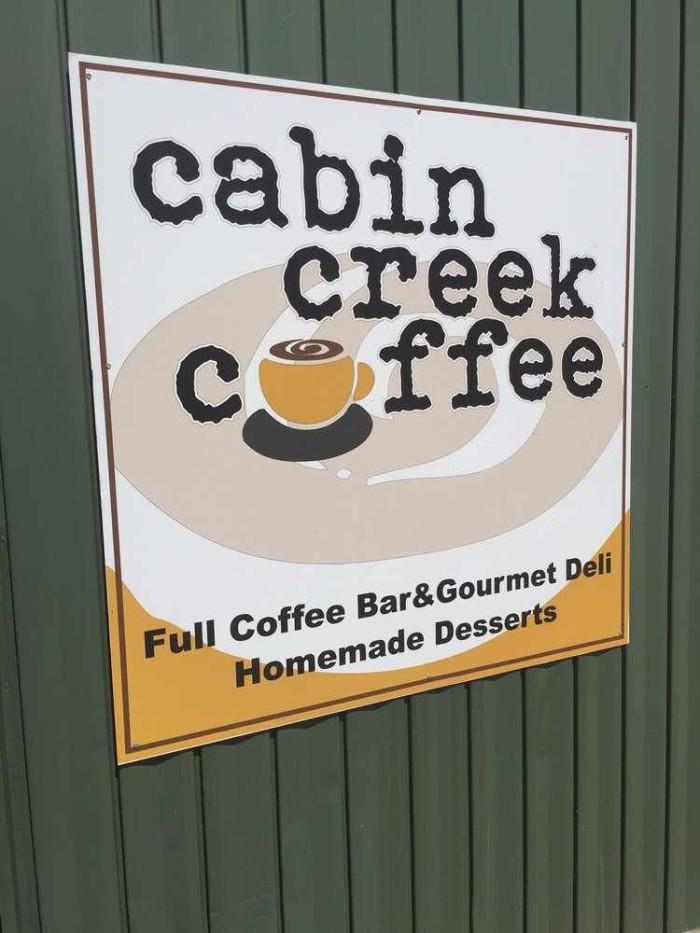 11) Cabin Creek Coffee, Alpena