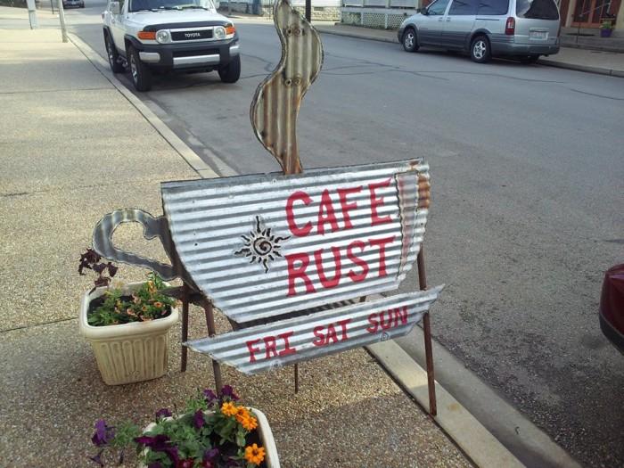 Cafe Rust, 122 N Main St