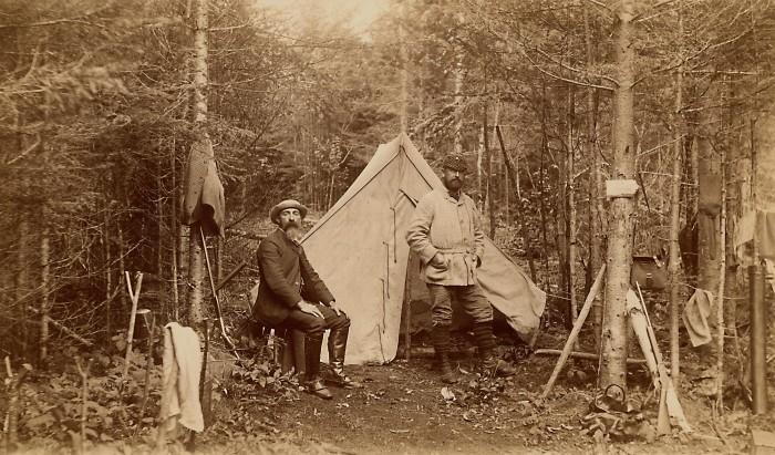 10. Camp Russell near Moosehead Lake (1888)