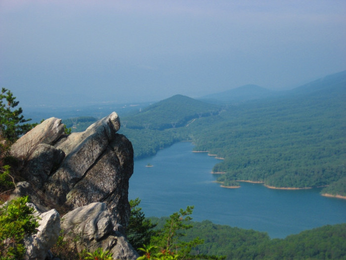 4. Carvin's Cove from Tinker Cliffs in Botetourt County