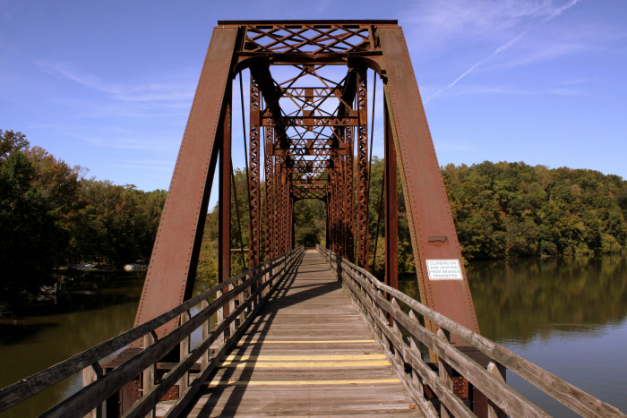 10) Welcome to the Cheatham County Bicentennial Trail Bridge