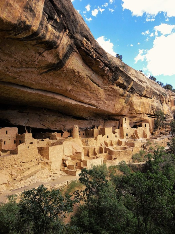 M is for Mesa Verde National Park.