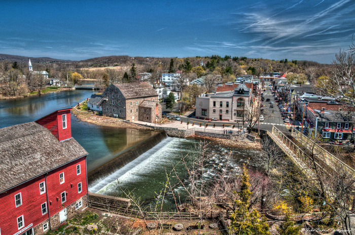 12. The small towns.
