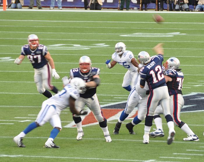 5. The New England Patriots.