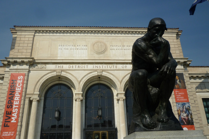 7) Instead of the Detroit Institute of Art...