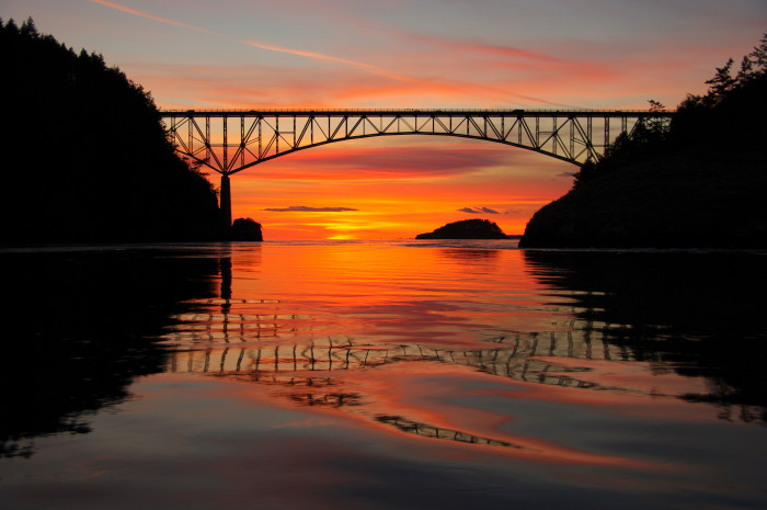 11. The beauty of a sunset in the Pacific Northwest is truly matchless, and we get to witness one every single day!