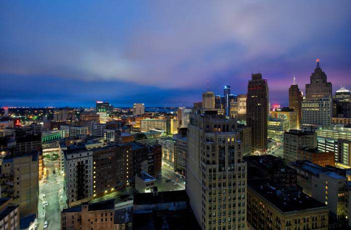 8) Detroit