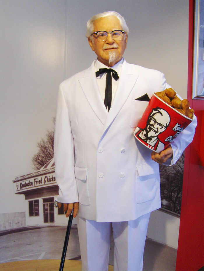 9. Did you know the KFC Colonel?