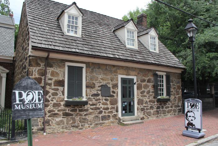 15. Edgar Allan Poe Museum, Richmond