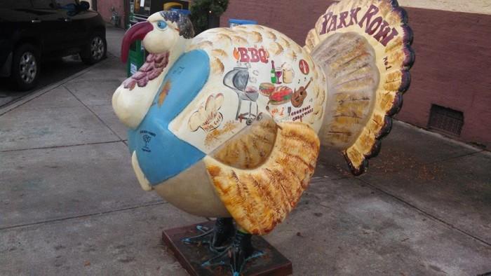 2. The giant turkeys of Edgefield, SC