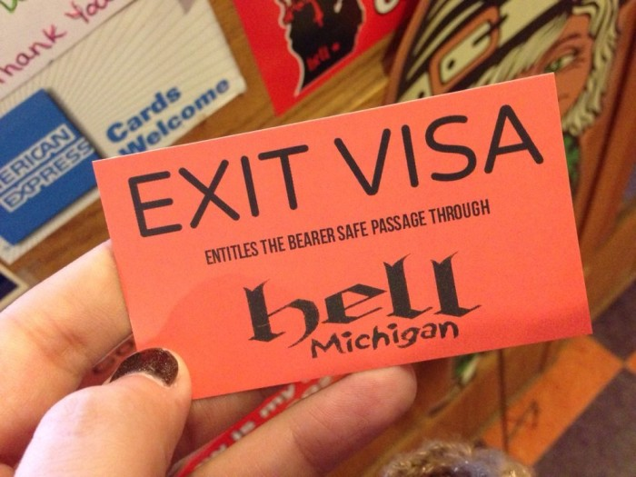 Get your official exit visa.