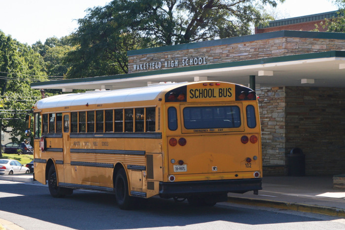 10. When you went on the requisite Williamsburg / Luray Caverns / Mount Vernon / Monticello field trip, everyone could ride on the same bus.