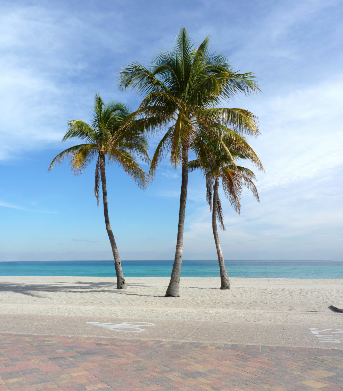 9. FLORIDA. (Or anywhere that is warm at that exact moment).