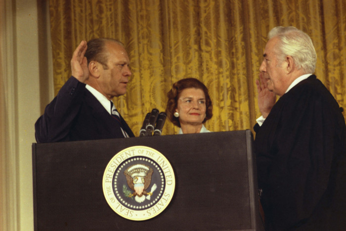 1) President Gerald Ford